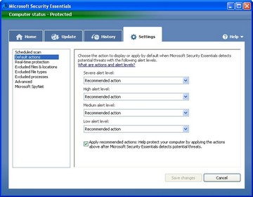 Microsoft Security Essential 2