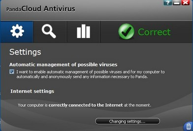 Panda Cloud Antivirus 2