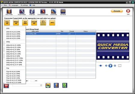 Quick Media Converter HD 2