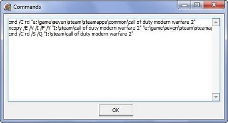 Программа Steam Mover, для перемещения Steam игр, сохраняя