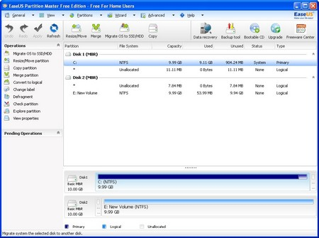 EaseUS Partition Master1