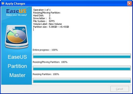 EaseUS Partition Master3